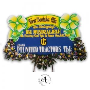 bunga papan duka cita pita besar surabaya 02